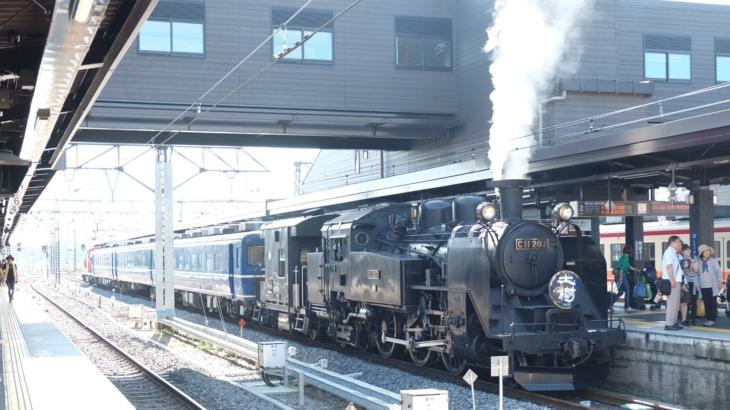 週末パスで東武とJRのSL巡りの旅@1日目(SL大樹とSLばんえつ物語)