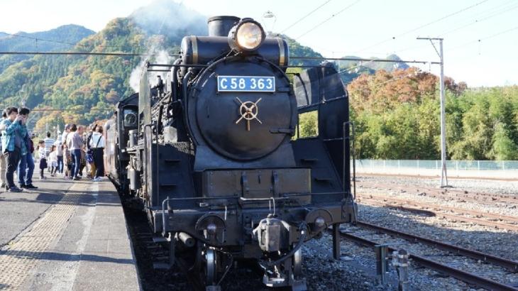 秩父鉄道で行く長瀞とSLパレオエクスプレスの日帰り旅