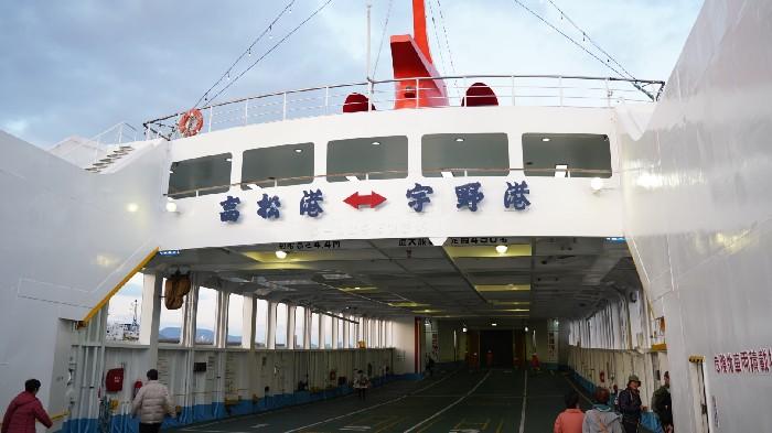 ジェットスター&18きっぷの山陽乗り鉄の旅:1日目(栗林公園と宇高航路)