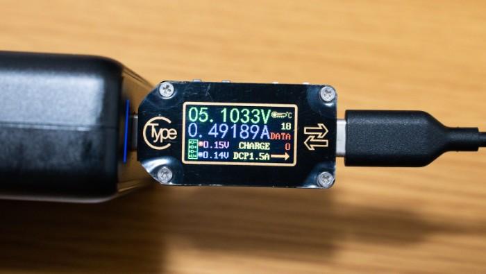 Type-C充電器のテスター「TC66C」購入レビュー:2500円程度で買えるお手軽テスター