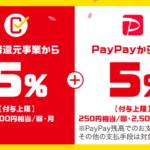 ついに無用のPayPayに?4月からのまちかどペイペイでは基本還元が0.5%に改悪へ